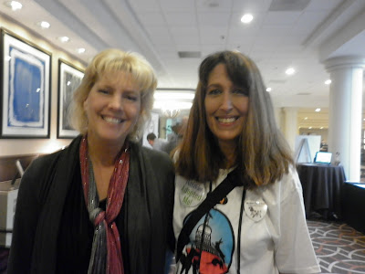 Bunny Allen with Lisa Taron at Blogpaws Conference 2013