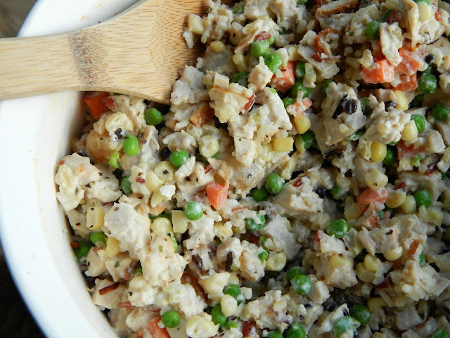 Extra Creamy Vegetable Chicken and Rice Recipe #PremiumVeggies #ad #pmedia
