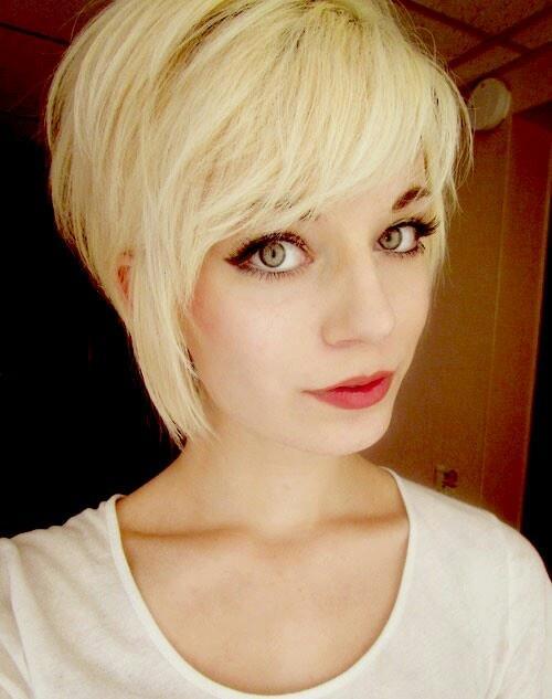 Frisur Damen 2016 Coolest Kurz Asymmetrisch Haircut Ideen
