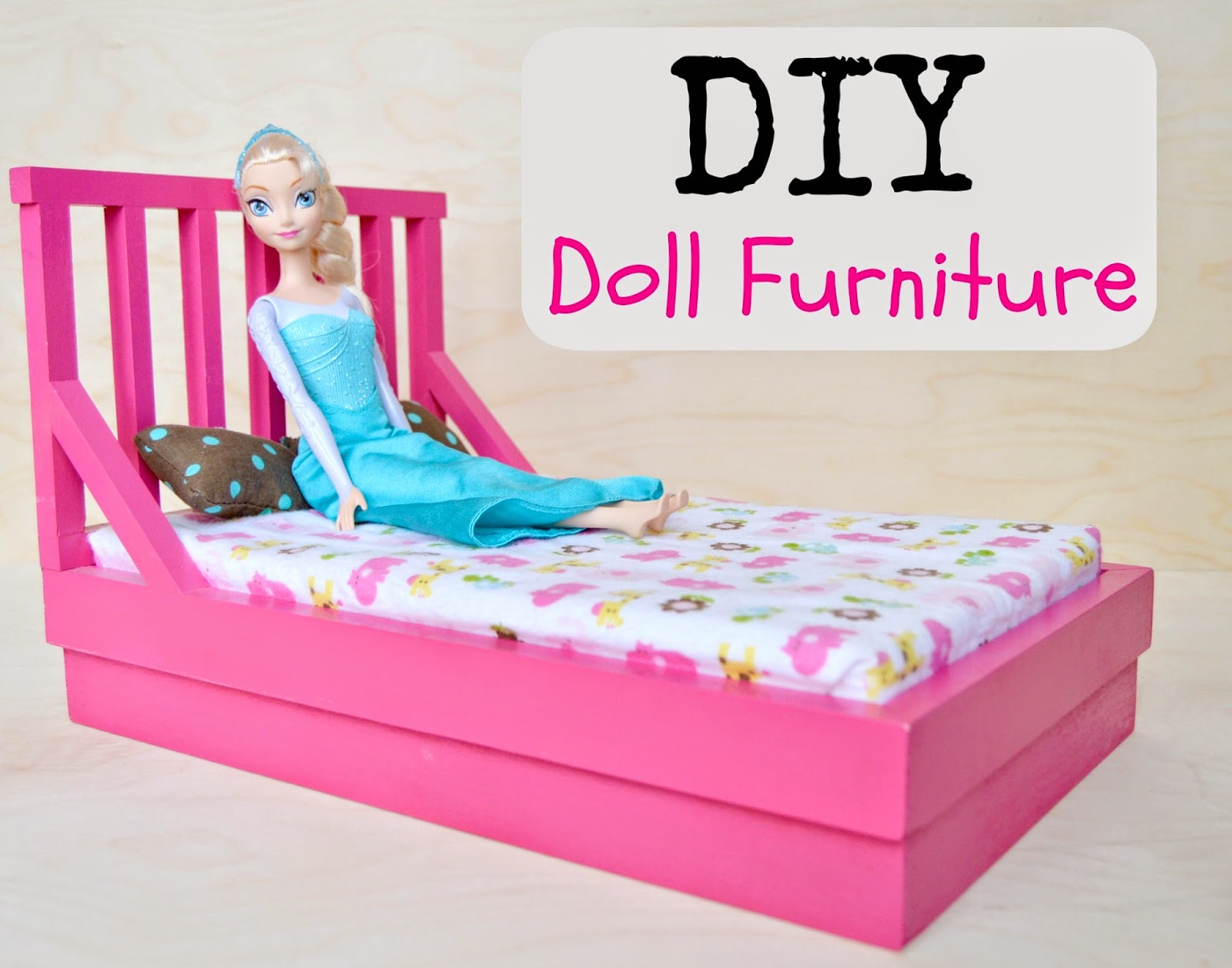 KRUSES WORKSHOP DIY Dollhouse Furniture