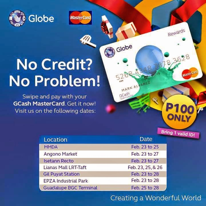 how to get gcash mastercard 2017