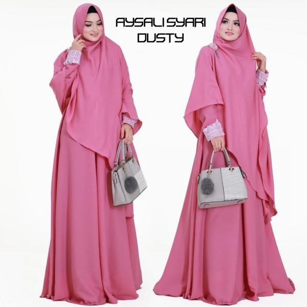 Jual Baju Busana Muslim Gamis Aysila Syari