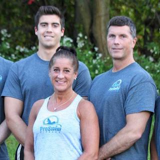 Marty, Patti Ann, and Bernie Finch of ProSwim Fitness