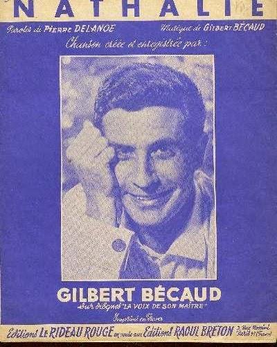FRENCH SINGERS: Gilbert Bécaud