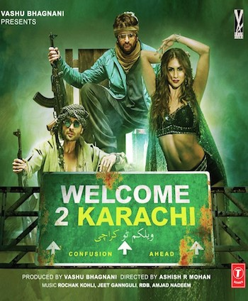 Welcome 2 Karachi 2015 Hindi 480p HDTV 350mb