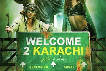 Welcome 2 Karachi 2015 Hindi 480p HDTV 350mb