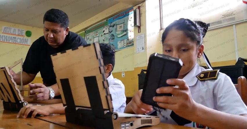 WAWALAPTOP: Peruanos crean la primera computadora portátil hecha con material reciclado