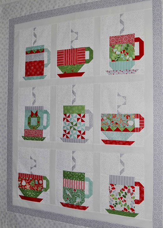 In From The Cold Quilt Free Pattern