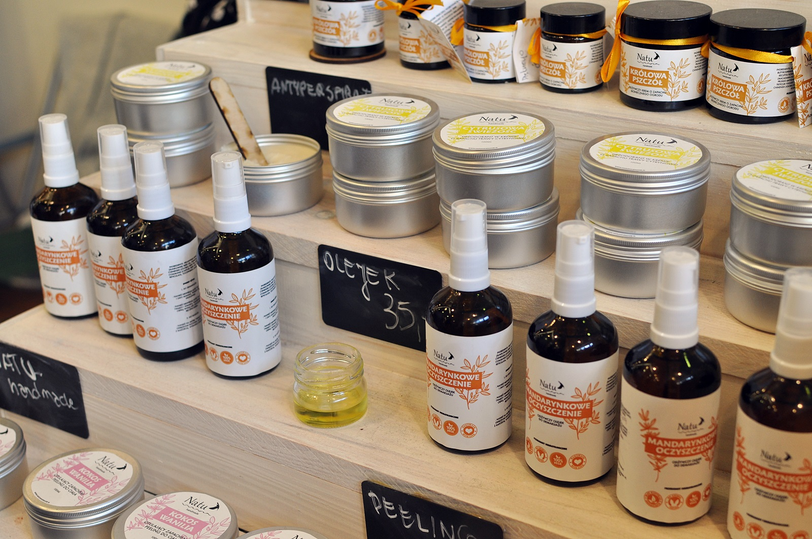 natu handmade na targach kosmetykow naturalnych w krakowie