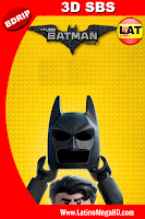 LEGO Batman: La Película (2017) Latino HD BDRIP 3D SBS 1080P - 2017