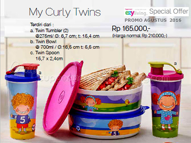 My Curly Twins Promo agustus 2016