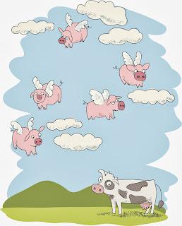 [Insert agent name here] Pigs be flying, folks.