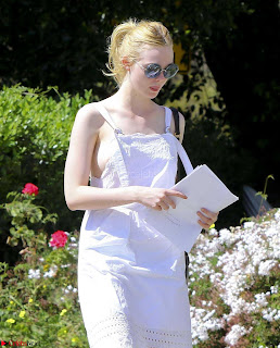 Elle Fanning Expsoing her Nipples Areola Wardrobe Malfunction
