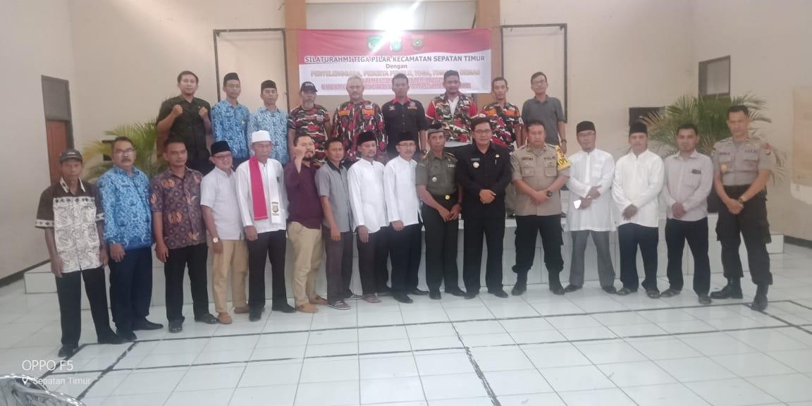 Kecamatan Septi Gelar Silaturahmi Tiga Pilar Bersama Penyelenggara Pemilu 2019