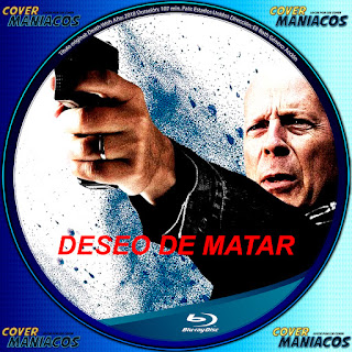 GALLETA BLURAY  Death Wish - DESEO DE VENGANZA 2018