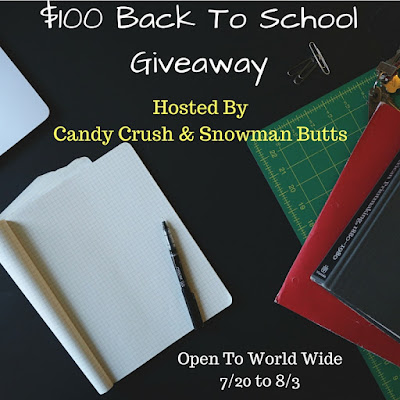 Enter the $100 Back to School PayPal Giveaway. Ends 8/3