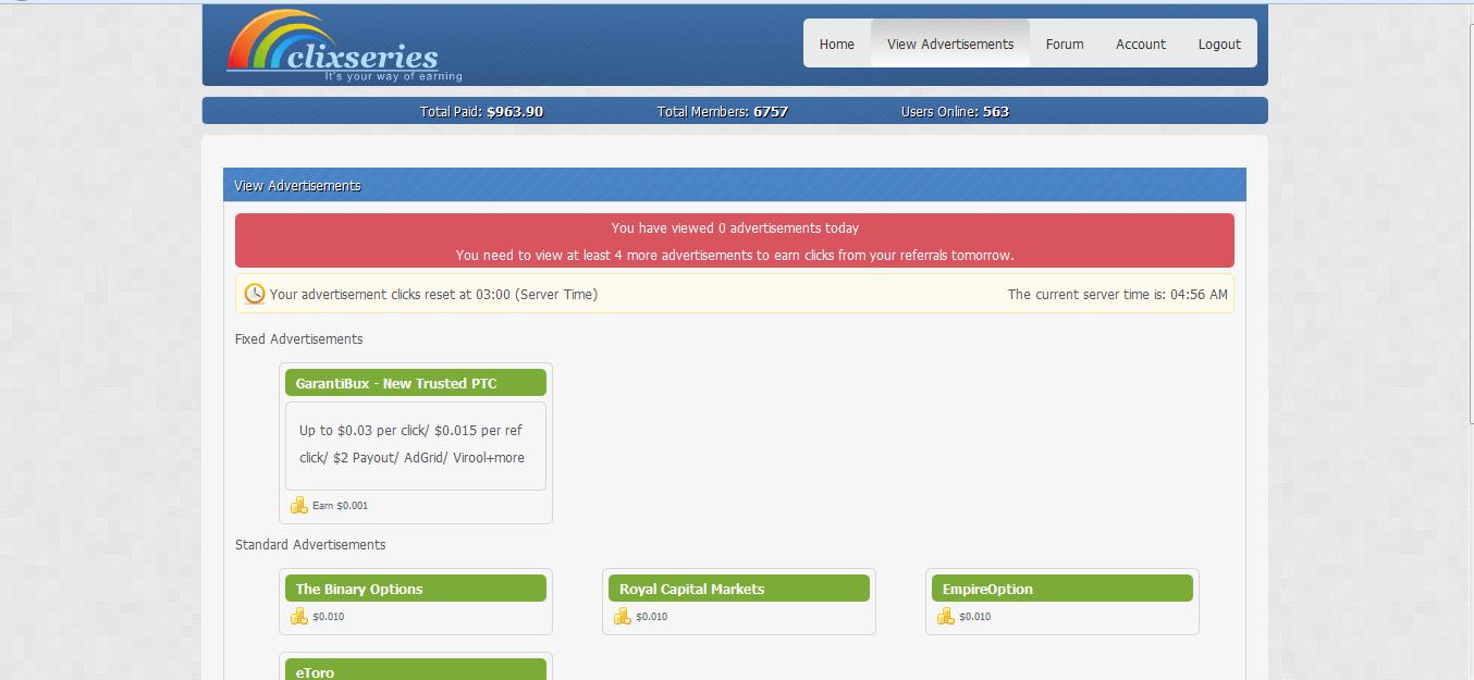 Clixseries Bisa Menghasilkan Uang | Bisnis Online | Tips ...