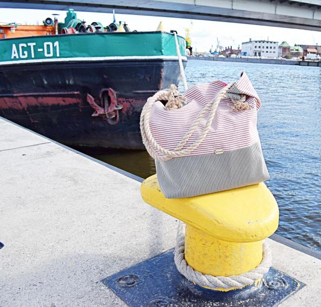 DIY - Jak uszyć torbę plażową?