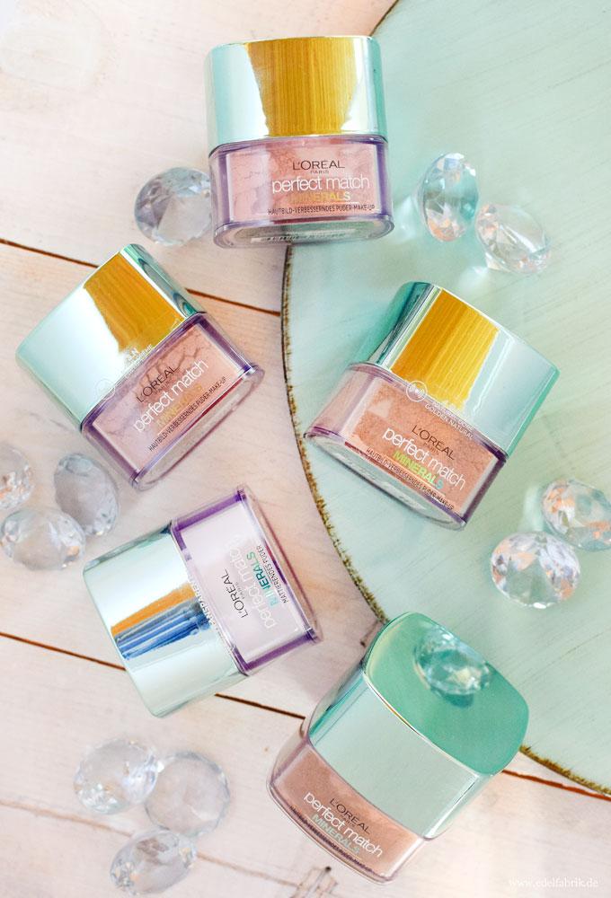 L'Oréal Perfect Match Minerals Powder Foundation, meine Erfahrung