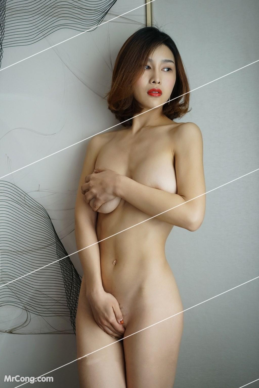 Image Yan-Pan-Pan-Part-3-MrCong.com-023 in post Ngắm vòng một siêu gợi cảm với nội y của người đẹp Yan Pan Pan (闫盼盼) (51 ảnh)