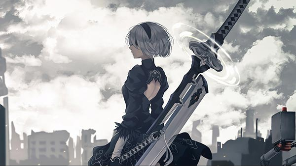 Nier Automata Ruins of War Wallpaper Engine