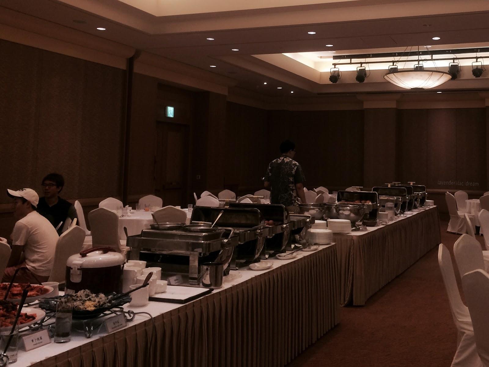 South Korea, Jeju Island, Yonsei University, YISS 2014, Teddy Valley Golf & Resort, Breakfast buffet