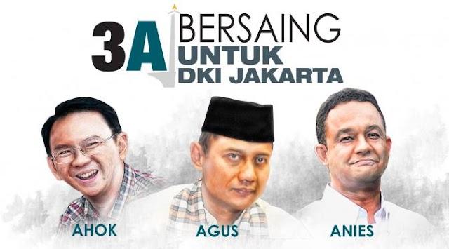 Mereka yang Bersaing untuk DKI Jakarta