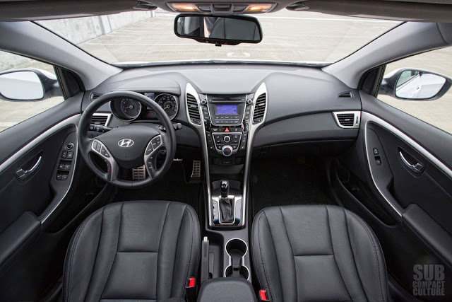 The 2013 Hyundai Elantra GT interior is comfortable and stylish