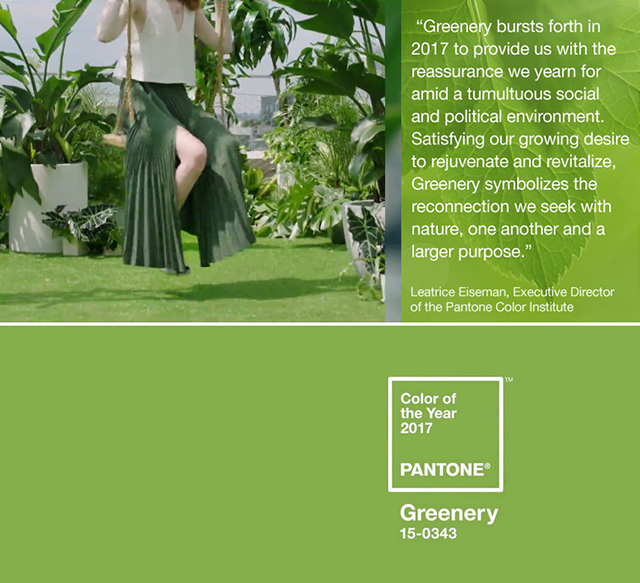 swing until pantone announces its color of the year each year pantone