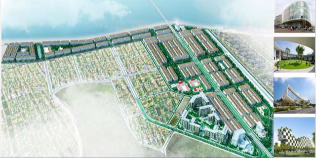 Phối cảnh đại dự án khu đô thị Cao Xanh Hà Khánh