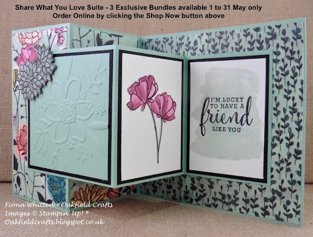 Global Stampers, Share What You Love, Oakfield Crafts
