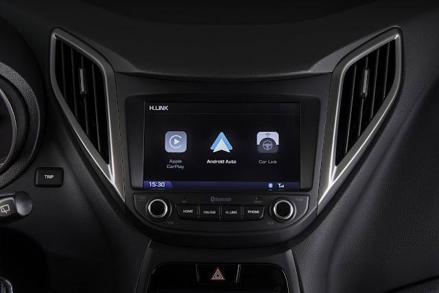 Hyundai HB20 - Central Multimídia