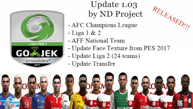 PES 2013 Liga 1 Indonesia Add On dari ND Project