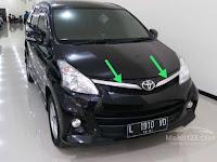 Harga dan Fisik : Chrome Grill Atas L+R Toyota Avanza Veloz