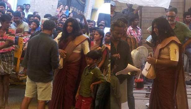 சிவகார்த்திகேயனை தொடர்ந்து லேடி கெட்டப்புக்கு மாறிய விஜய் சேதுபதி