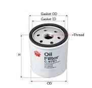 Alternatif Filter Oli Blazer menggunakan merek Sakura. Mengatasi tekanan oli drop pada saat panas.