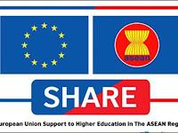 Beasiswa SHARE untuk Pertukaran Mahasiswa S1 di ASEAN