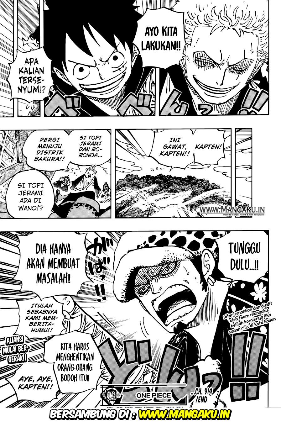 Komik Manga One Piece Chapter 915 Bahasa Indonesia