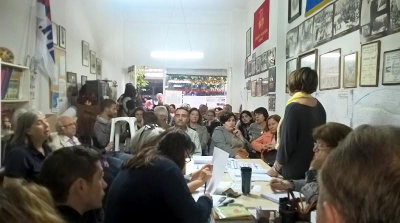 Μαζική σύσκεψη της ΛΕΚ