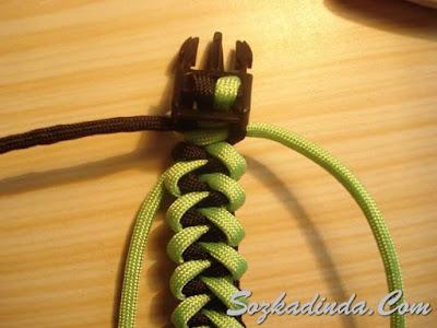 ayakkabı ipinden bileklik yapımı anlatımlı
