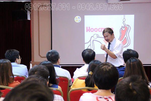 Những hình ảnh trong buổi đào tạo của BID Group