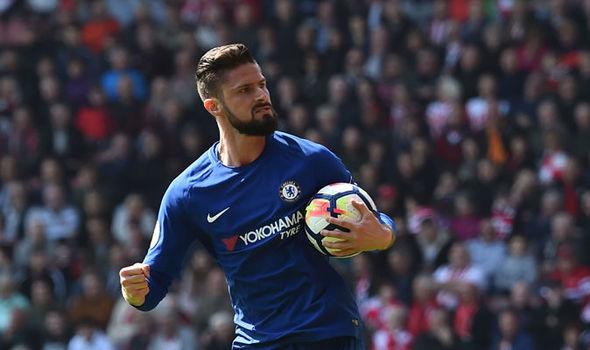 Reaksi Heran Giroud Saksikan Morata Tak Berhasil Cetak Goal buat Chelsea