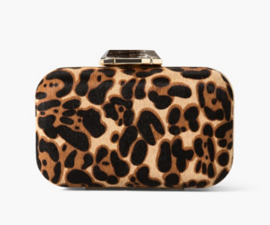 Clutch animal print de Mango