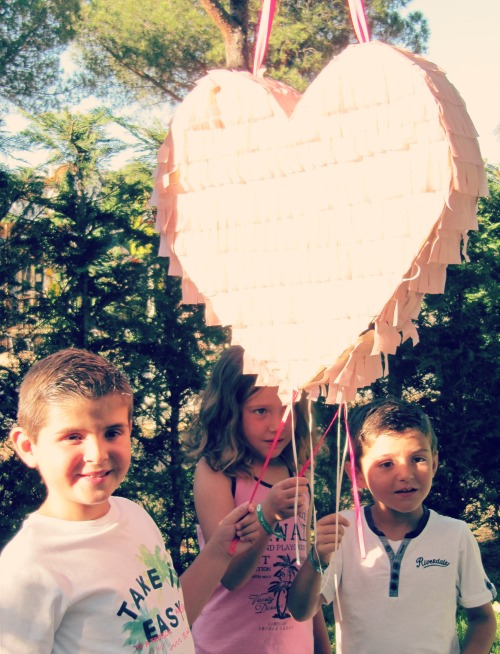 Piñata corazón