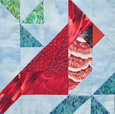 www.springleafstudios.com, cardinal quilt block