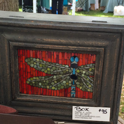 RKJ Glass by Rachel Jones - Summerville Flowertown Festival | The Lowcountry Lady