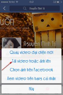 Video 7s để làm ảnh đai diện Facebook