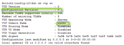 VTP (Vlan Trunking Protocol) ~ Learn and learn