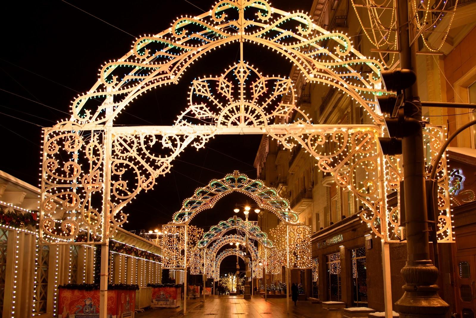 Тверская улица. Новый год