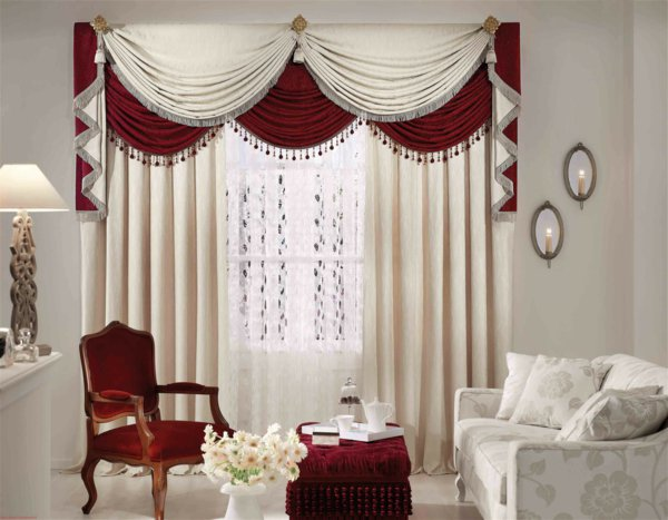 simple curtain designs for living room windows